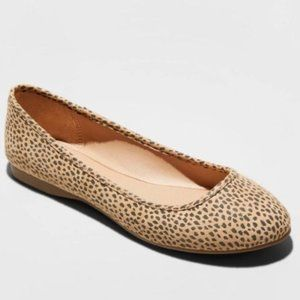 EVERLY Flats Shoes Universal Thread Leopard 7.5
